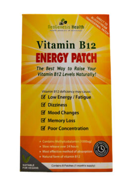 Neo Genesis Health – Vitamin B12 Energy Patch – 8 patches
